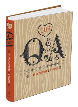 Our Q&A a Day by Potter Gift