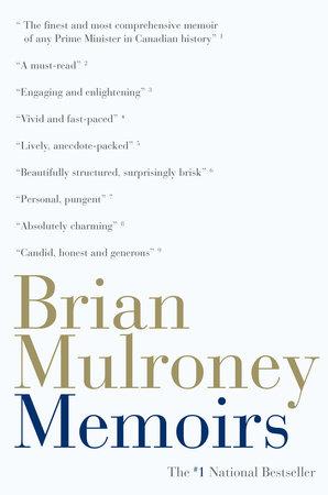 Memoirs by Brian Mulroney
