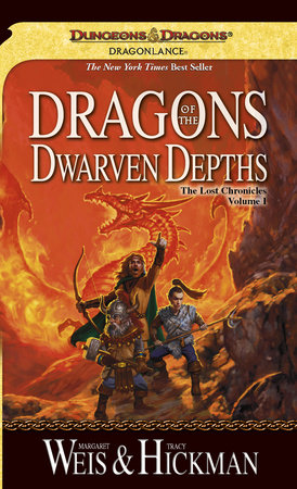 Dragons of the Dwarven Depths by Margaret Weis and Tracy Hickman