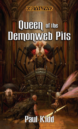 Queen of the Demonweb Pits by Paul Kidd