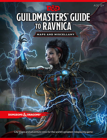 Dungeons & Dragons Guildmasters' Guide to Ravnica Maps and Miscellany (D&D/Magic: The Gathering Accessory) by
