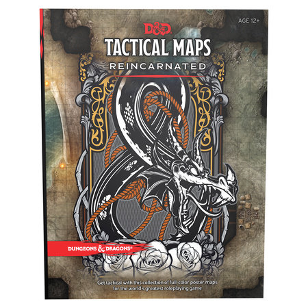 Dungeons & Dragons Tactical Maps Reincarnated (D&D Accessory) by