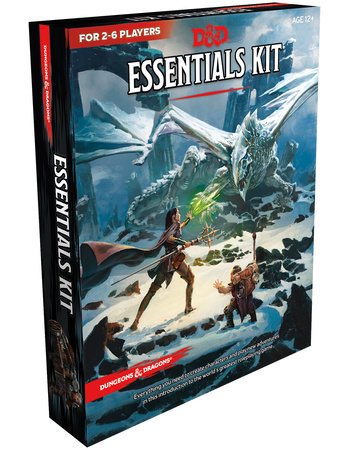 Dungeons & Dragons Essentials Kit (D&D Boxed Set) by Wizards RPG Team