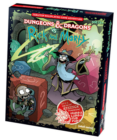 Dungeons & Dragons vs Rick and Morty (D&D Tabletop Roleplaying Game Adventure Boxed Set) by Wizards RPG Team and Jim Zub