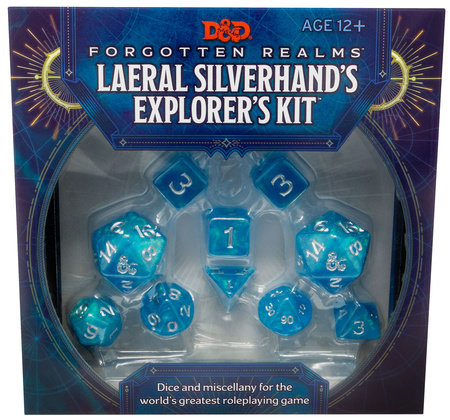 D&D Forgotten Realms Laeral Silverhand's Explorer's Kit (D&D Tabletop Roleplaying Game Accessory) by