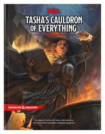 Tasha's Cauldron of Everything (D&D Rules Expansion) (Dungeons & Dragons) by Wizards RPG Team