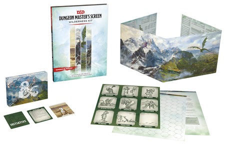 Dungeons & Dragons Dungeon Master's Screen Wilderness Kit (D&D Accessories)