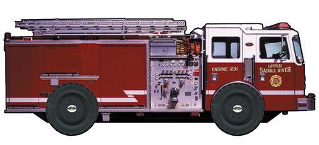 Fire Truck by DK