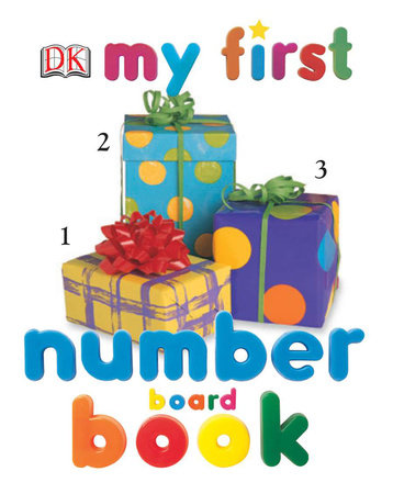 My First Number Board Book by DK