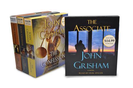 John Grisham CD Audiobook Bundle #2 by John Grisham