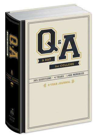 Q&A a Day for College by Potter Gift