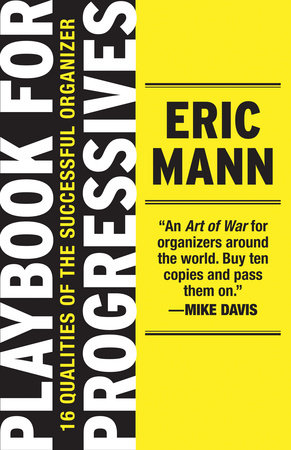 Playbook for Progressives by Eric Mann