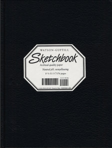 Large Sketchbook (Lizard, Black)