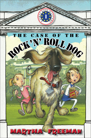 The Case of the Rock 'N' Roll Dog by by Martha Freeman