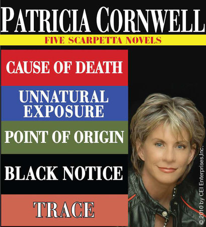 Patricia Cornwell FIVE SCARPETTA NOVELS by Patricia Cornwell