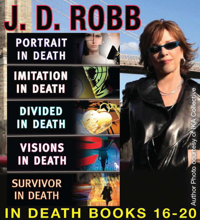 J.D. Robb  The IN DEATH COLLECTION Books 16-20 by J. D. Robb