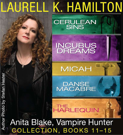 Laurell K. Hamilton's Anita Blake, Vampire Hunter collection 11-15 by Laurell K. Hamilton