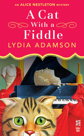 A Cat With a Fiddle by Lydia Adamson