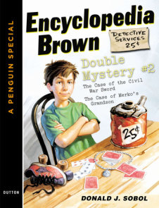 Encyclopedia Brown Double Mystery #2