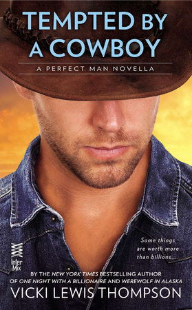 Tempted By a Cowboy (Novella) by Vicki Lewis Thompson