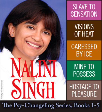Nalini Singh: The Psy-Changeling Series Books 1-5 by Nalini Singh