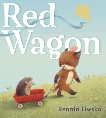 Red Wagon by Renata Liwska