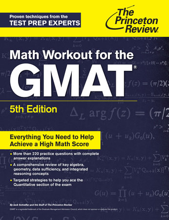 Math Workout for the GMAT, 5th Edition  by The Princeton Review