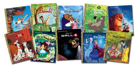 Disney Movies Little Golden Book Bundle 35-copy set by Various
