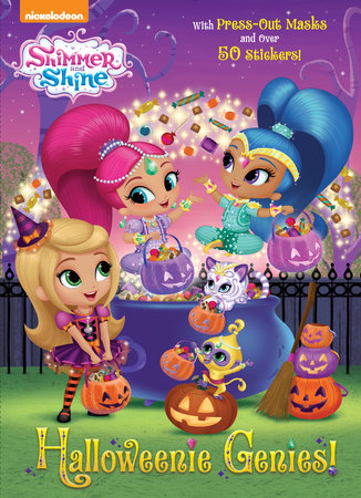 Halloweenie Genies! (Shimmer and Shine) by Golden Books