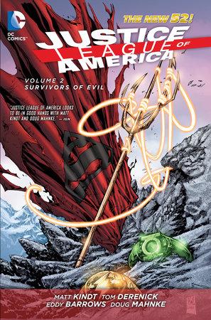 Justice League of America Vol. 2: Survivors of Evil (The New 52) by Matt Kindt