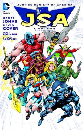 JSA Omnibus Vol. 1 by Geoff Johns and David Goyer