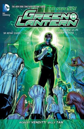 Green Lantern Vol. 4: Dark Days (The New 52) by Robert Venditti