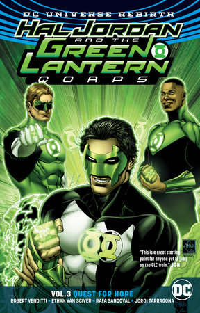 Hal Jordan and the Green Lantern Corps Vol. 3: Quest for Hope (Rebirth) by Robert Venditti