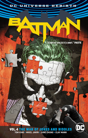 Batman Vol. 4: The War of Jokes and Riddles (Rebirth) by Tom King