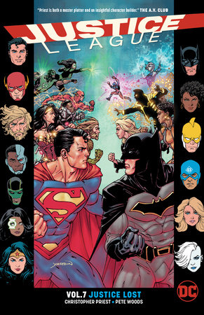 Justice League Vol. 7: Justice Lost by Christopher Priest