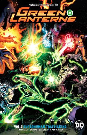 Green Lanterns Vol. 7: Superhuman Trafficking by Tim Seeley