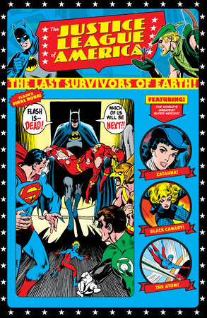 Justice League of America: The Last Survivors of Earth! by Various