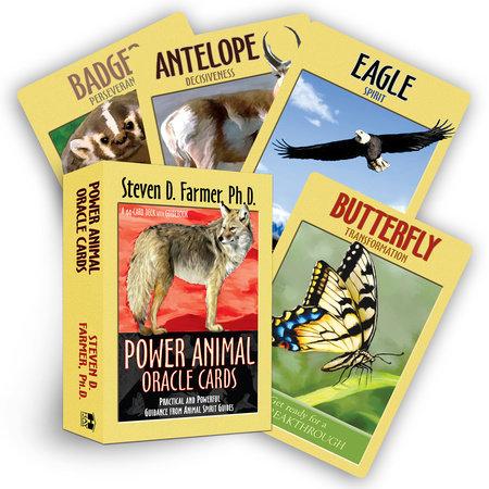 Power Animal Oracle Cards by Steven D. Farmer