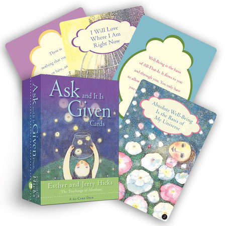 Ask And It Is Given Cards by Esther Hicks and Jerry Hicks