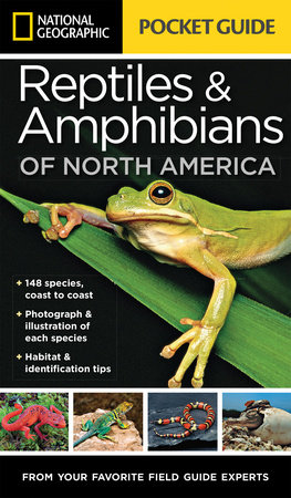National Geographic Pocket Guide to Reptiles and Amphibians of North America by Catherine Herbert Howell