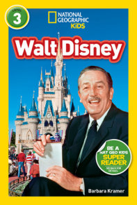 National Geographic Readers: Walt Disney (L3)