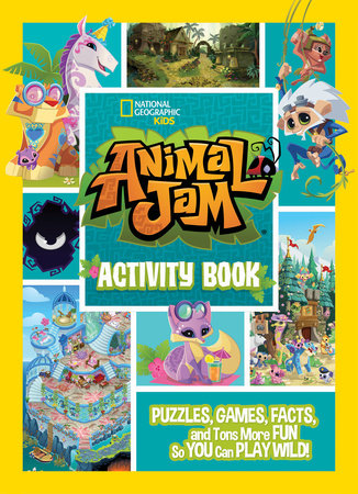 Animal Jam Activity Book by National Geographic Kids and WildWorks Inc.