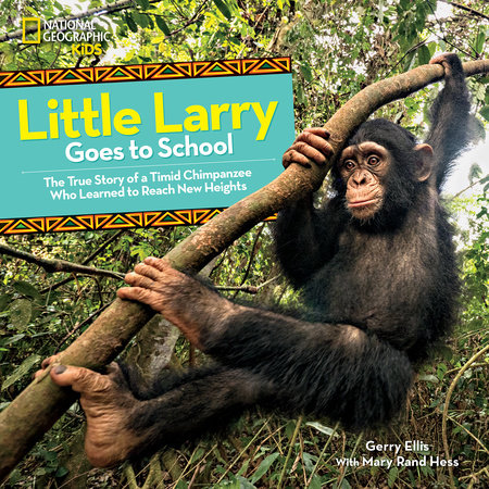 Little Larry Goes to School by Gerry Ellis and Mary Rand Hess