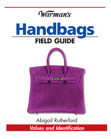 Warman's Handbags Field Guide by Abigail Rutherford