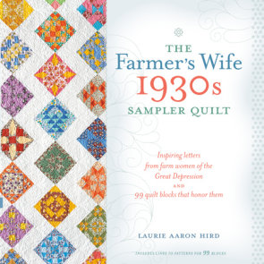 The Farmer's Wife 1930s Sampler Quilt