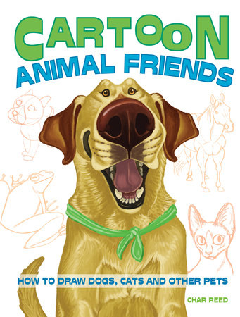Cartoon Animal Friends by Char Reed