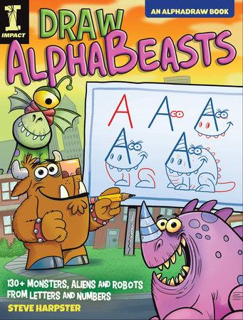 Draw AlphaBeasts by Steve Harpster