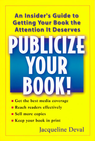 Publicize your Book! by Jacqueline Deval