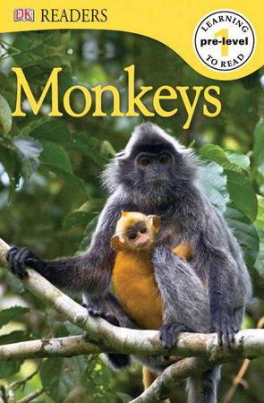 DK Readers L0: Monkeys by DK