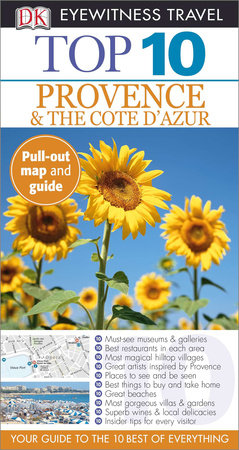 Top 10 Provence and Côte D'Azur by DK Eyewitness